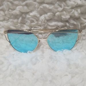 Other - Blue/gold Sunglasses